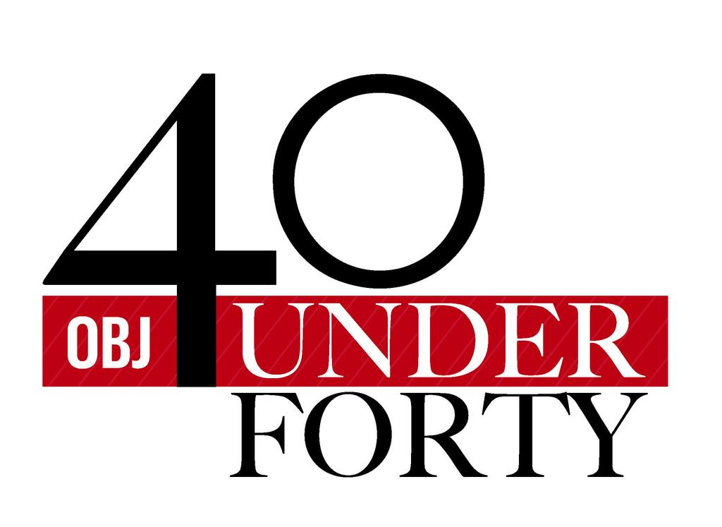 40 under 40 OBJ logo 2014
